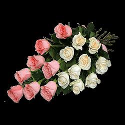Blumenstrauß aus den Rosen