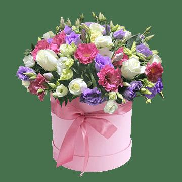 Rosen und Lisianthus
