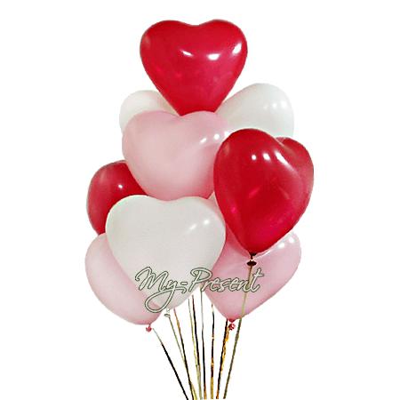 Luftballons in Wladiwostok