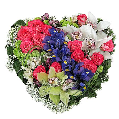Das Herz aus den Blumen