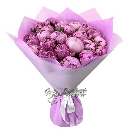 Blumenstrauß aus Päonien