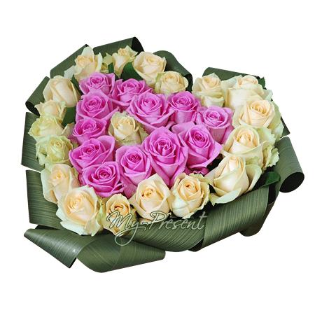 Das Herz aus den Rosen