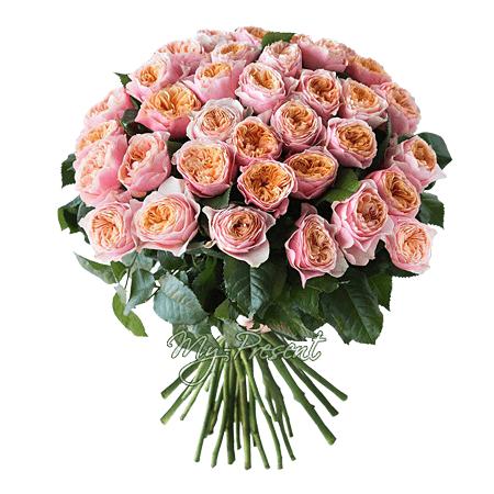 Blumenstrauß aus rosen pfingstrosen