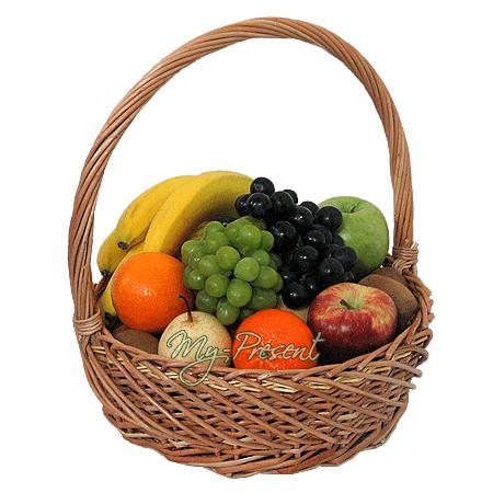 Der Korb mit den Früchten in Kasan